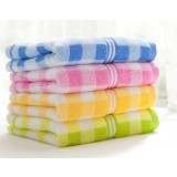4pcs Case grain multi-colored cotton towels