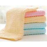 4pcs light colored cotton towels
