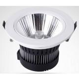 5-15W 30 degree rotation COB LED Spotlight