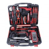 58 piece electrical repair kit with a multimeter