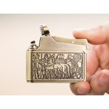 5.2 * 4.2cm retro copper oil lighter