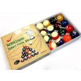 5.7cm resin billiard balls for pool eight ball