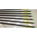 5pcs 81cm carbon arrows bolts