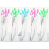 5pcs thicker rubber kitchen gloves