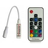 5V - 24V Mini Remote RGB Controller for LED Strip Lights