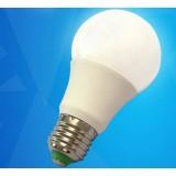 5W E27 composite materials LED ball light bulb