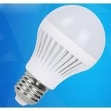 5W E27 pc shade LED ball light bulb