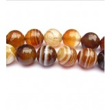 6-14 mm brown strips crystal beads chain