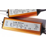 6-38W waterproof aluminum LED driver for ceiling lights