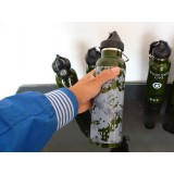 600ml stainless steel camouflage kettle