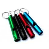 6.2cm aluminum alloy lifesaving whistle