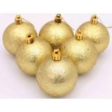 6cm flash powder Christmas ball