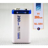 6F229V rechargeable battery / large capacity 280 mA