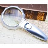 6LEDs 6X handheld magnifier