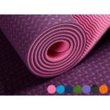 6mm-8mm antiskid TPE Bicolor Yoga Mat