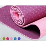 6mm environmentally friendly sided antiskid TPE yoga mat