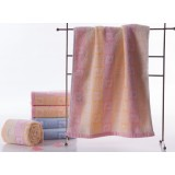 6pcs geometric pattern cotton towels