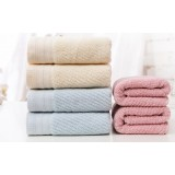 6pcs minimalist cotton towels