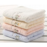 6pcs pastoral style cotton towels