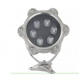 6W 24V underwater fountain LED spotlights