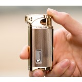 76g ultrathin zinc alloy windproof lighter