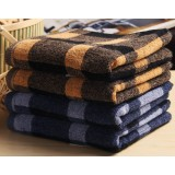 78 * 35cm Plaid cotton towel