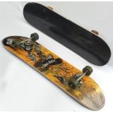 78cm PU wheels double warping skateboard