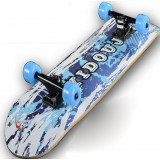 79cm Double warping four wheels skateboard