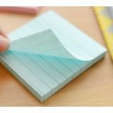 7.6cm square stripe sticky notes