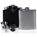 7oz minimalist stainless steel wine pot