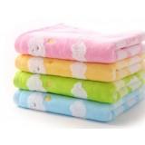 80 * 35cm clouds cotton towels