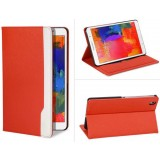 8.4-inch Clamshell leather case for Samsung galaxy tab pro 8.4 / t320