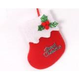 8 * 10cm Plush Christmas Stocking