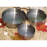 8 ~ 12cm stainless steel round ashtray