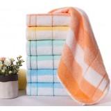 8pcs striped cotton towels
