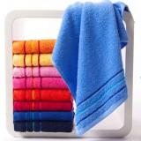 8pcs striped multi-colored towels