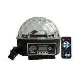 9-color LED crystal ball stage laser lights