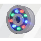 9W- 12W 12 ~ 24V stainless steel underwater LED spotlights