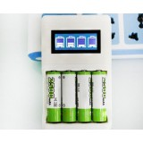 AA 2700 mA rechargeable battery Set with battery check function