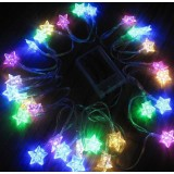 AA batteries 3M Stars LED holiday lights