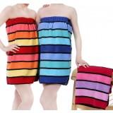 Adjustable Bra-style cotton towels