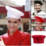Adjustable size cook hat