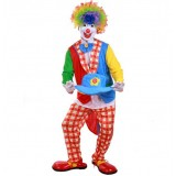 Adult Halloween clown clothes