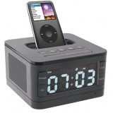 Alarm clock speaker with remote control for ipod iphone
