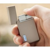 Alloy blue flame windproof lighter
