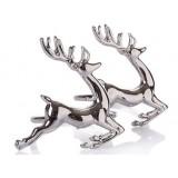 Alloy deer napkins ring