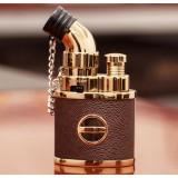 Alloy retro gas cigar lighter