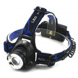 aluminum alloy T6 zoom LED headlamp