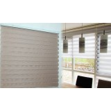 Aluminum track double layer venetian blinds