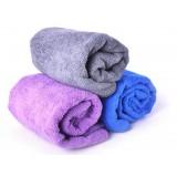 Antibacterial microfiber sports towel